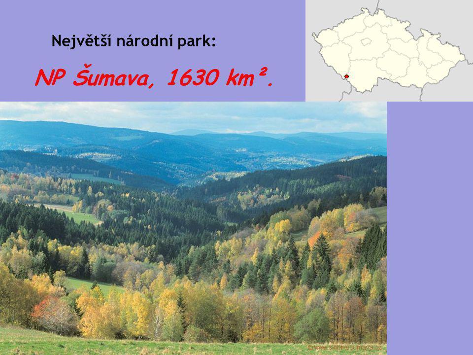 Největší národní park: