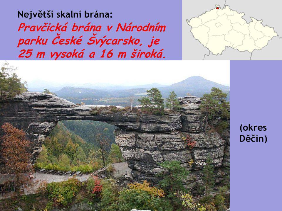 Největší skalní brána: