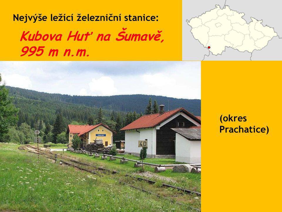 Kubova Huť na Šumavě, 995 m n.m.