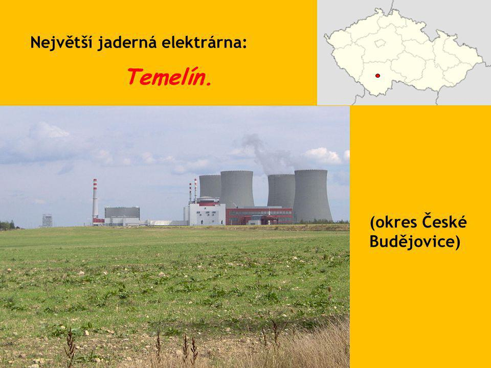 Největší jaderná elektrárna: