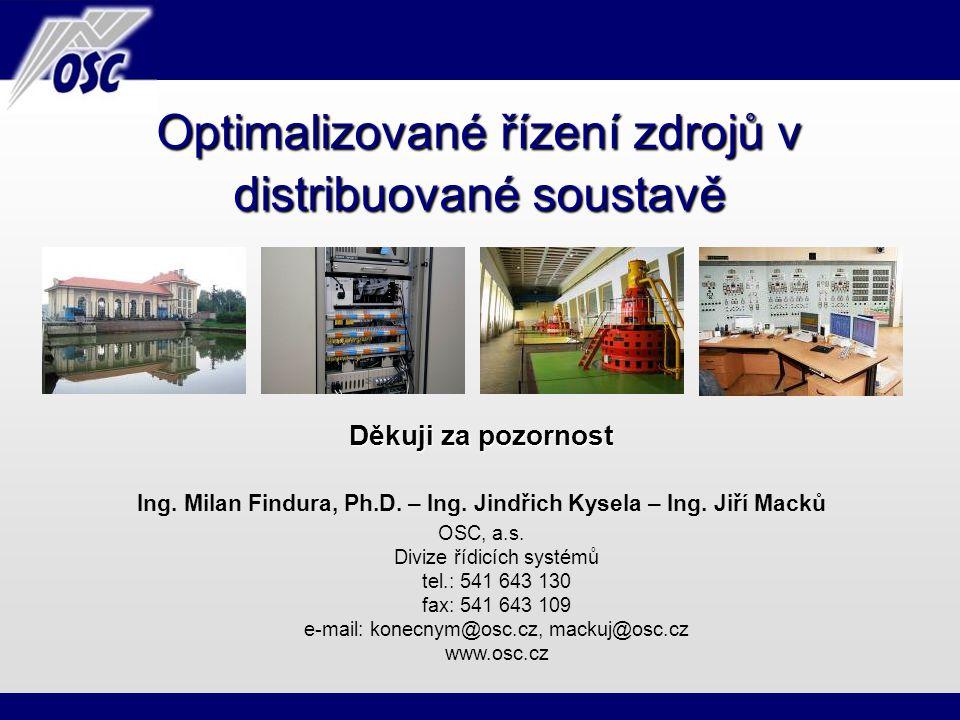 Ing. Milan Findura, Ph.D. – Ing. Jindřich Kysela – Ing. Jiří Macků