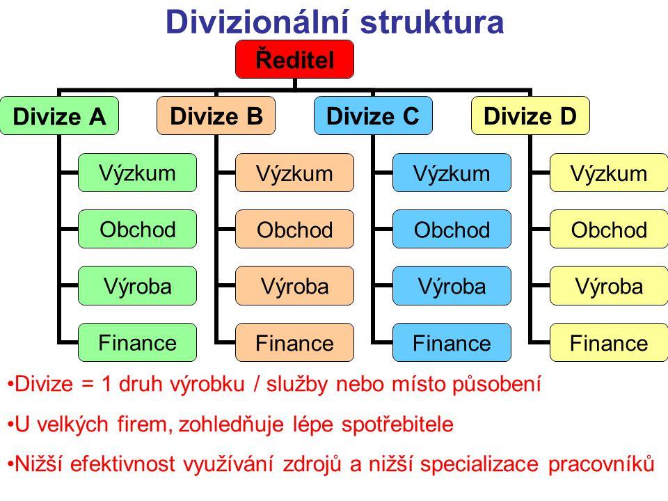 Divizionální struktura