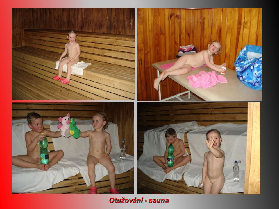 Otužování - sauna
