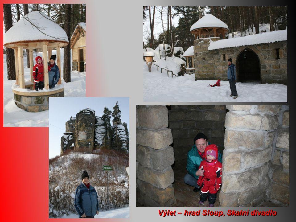 Výlet – hrad Sloup, Skalní divadlo