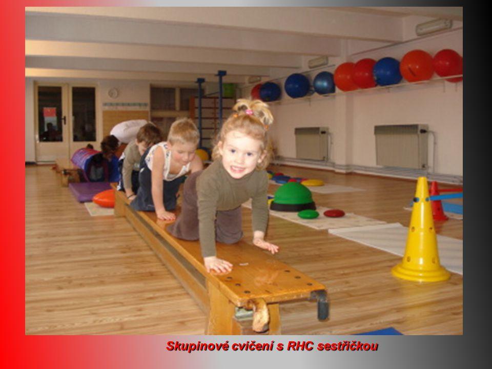 Skupinové cvičení s RHC sestřičkou