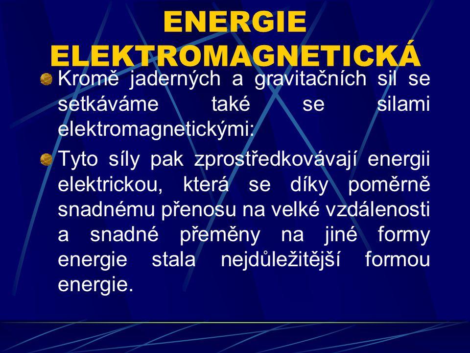 ENERGIE ELEKTROMAGNETICKÁ
