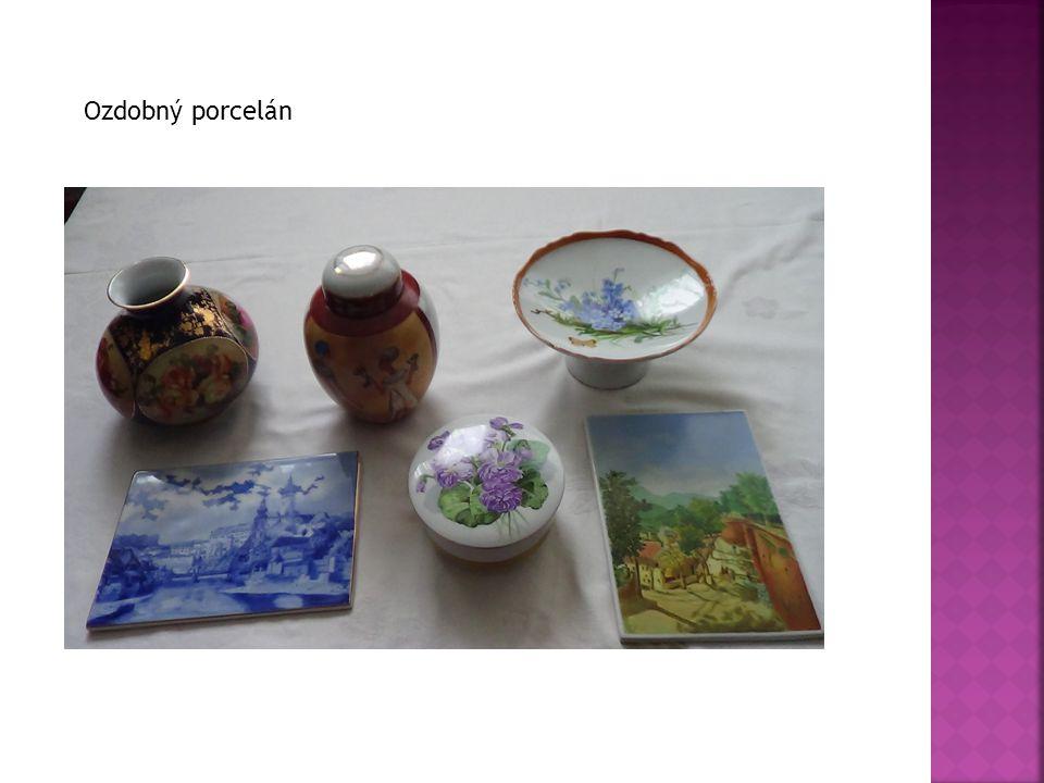 Ozdobný porcelán