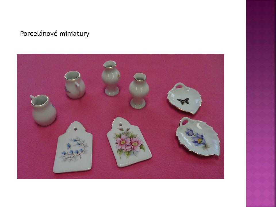 Porcelánové miniatury