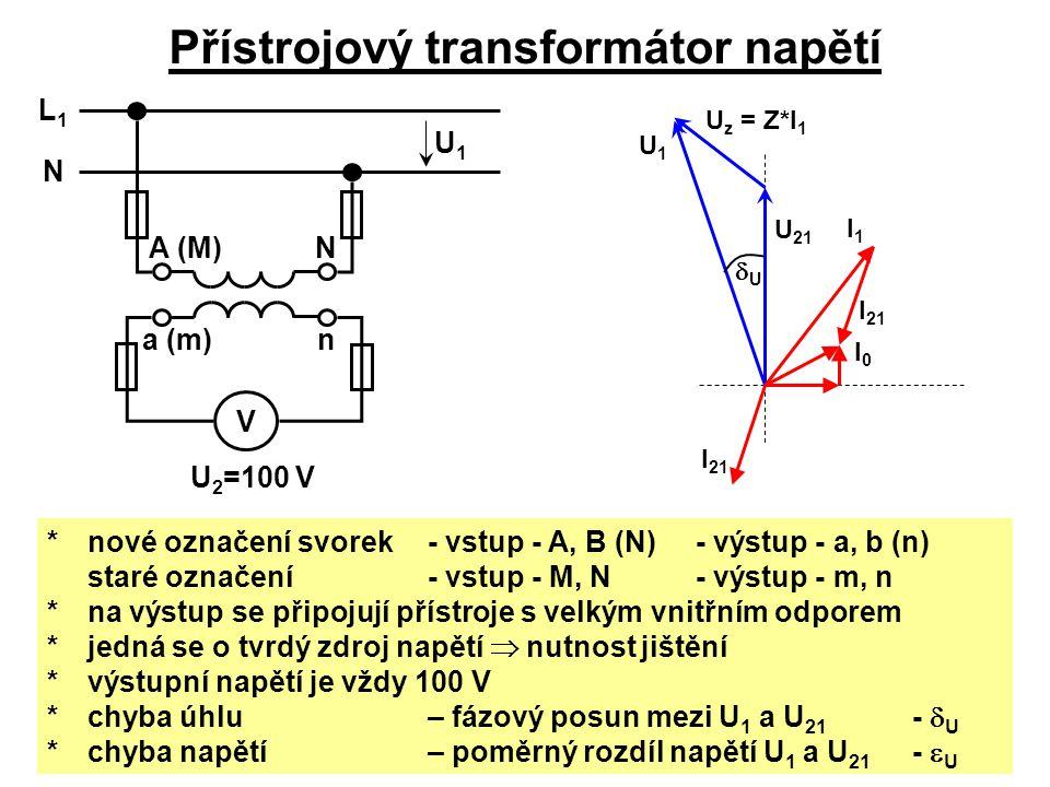 Přístrojový transformátor napětí