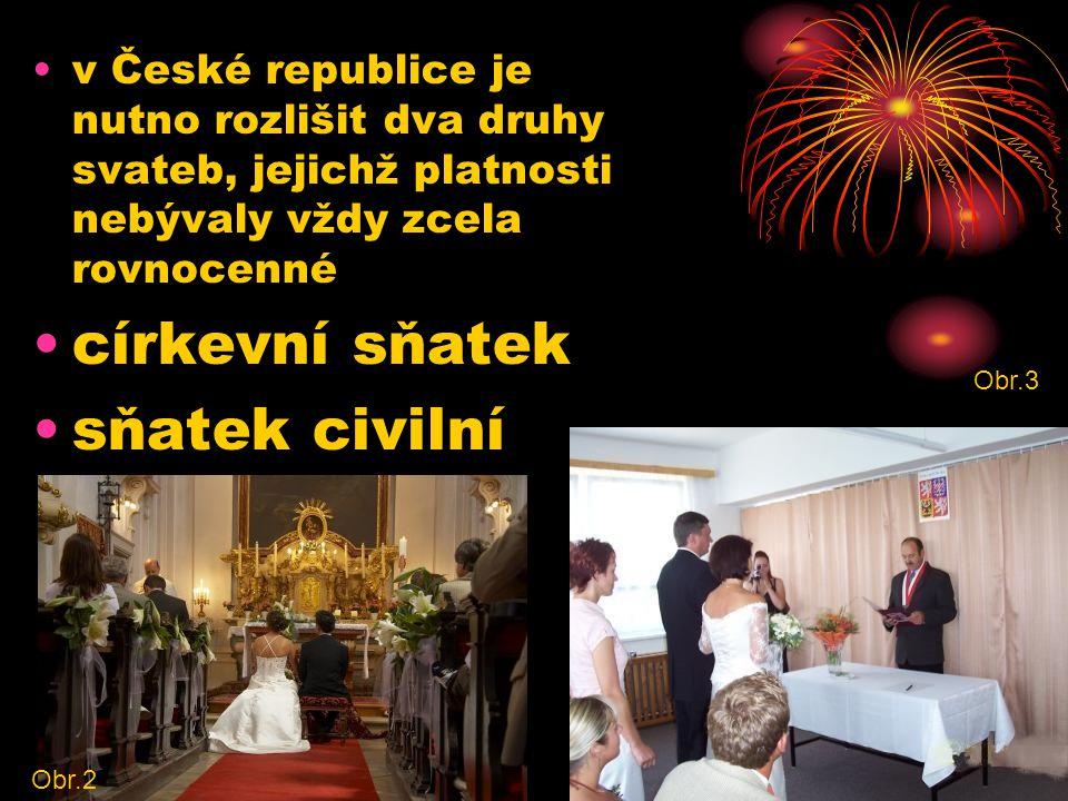 církevní sňatek sňatek civilní