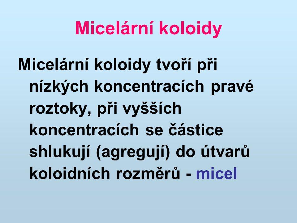 Micelární koloidy