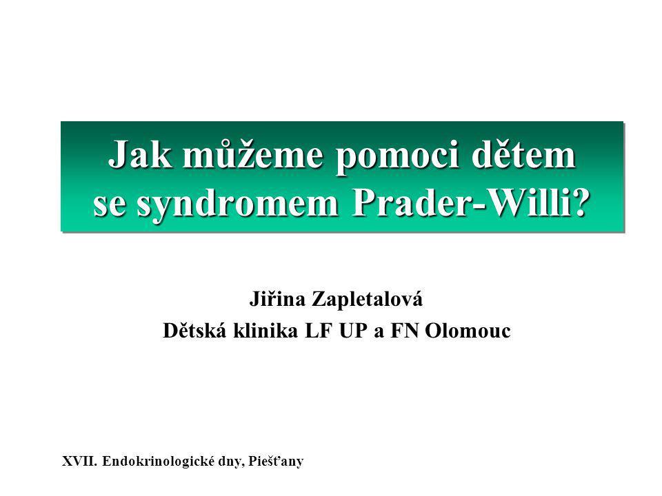 Jak můžeme pomoci dětem se syndromem Prader-Willi