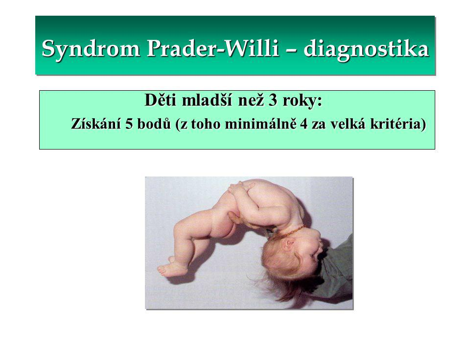 Syndrom Prader-Willi – diagnostika
