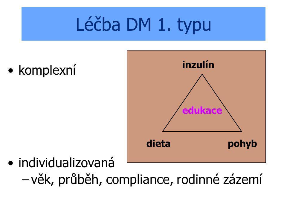 Léčba DM 1. typu komplexní individualizovaná