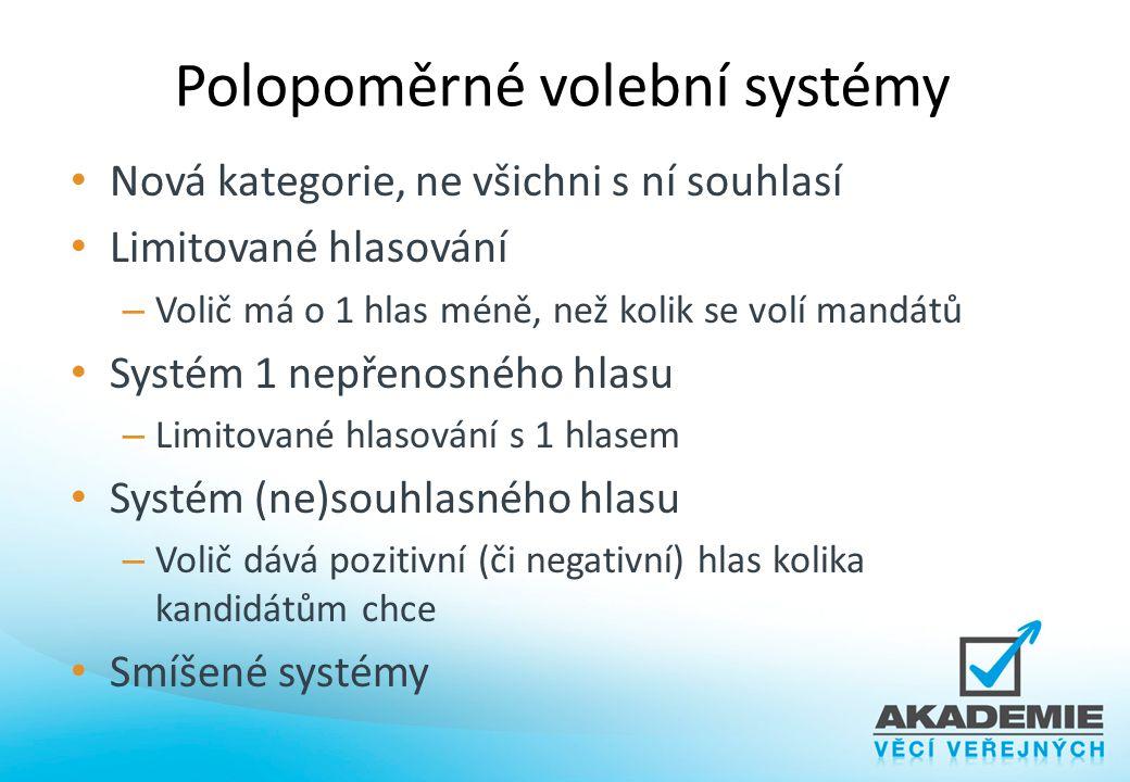 Polopoměrné volební systémy