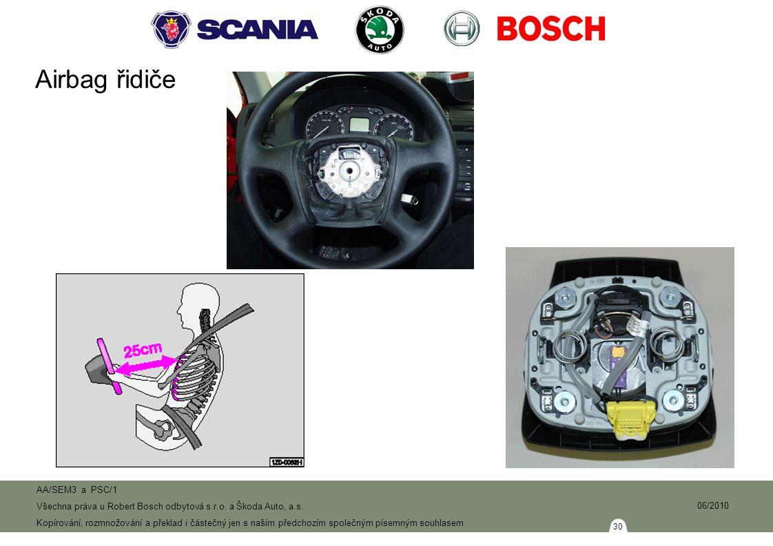 Airbag řidiče