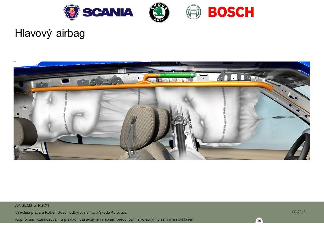 Hlavový airbag