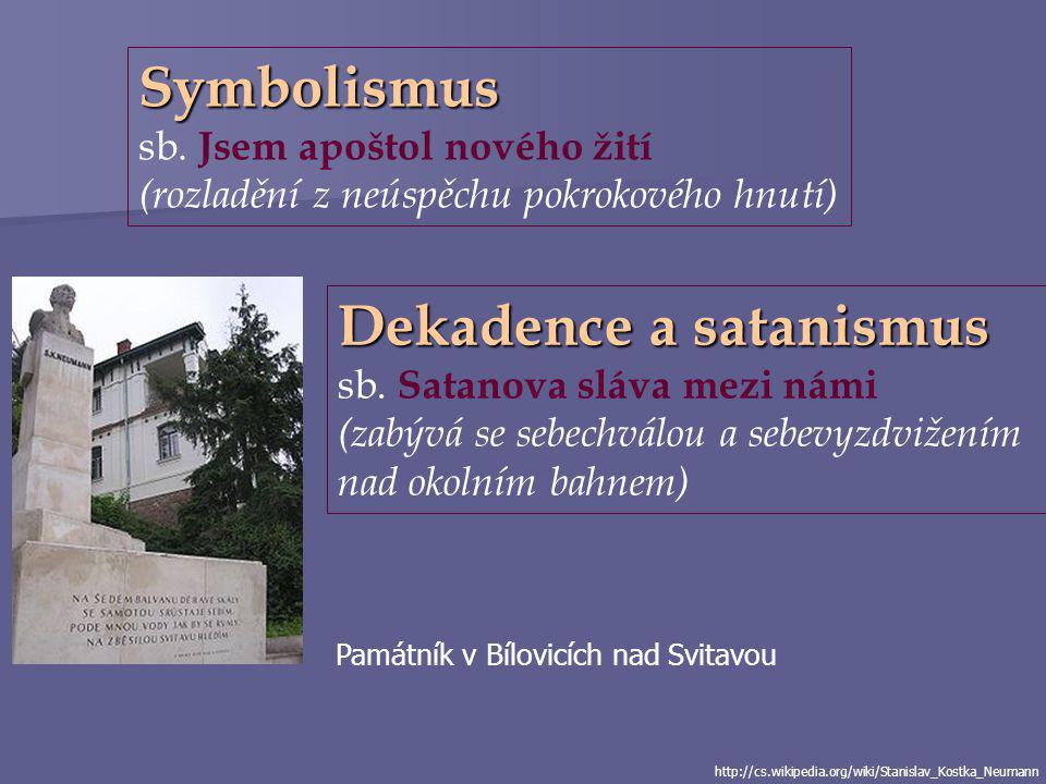 Dekadence a satanismus