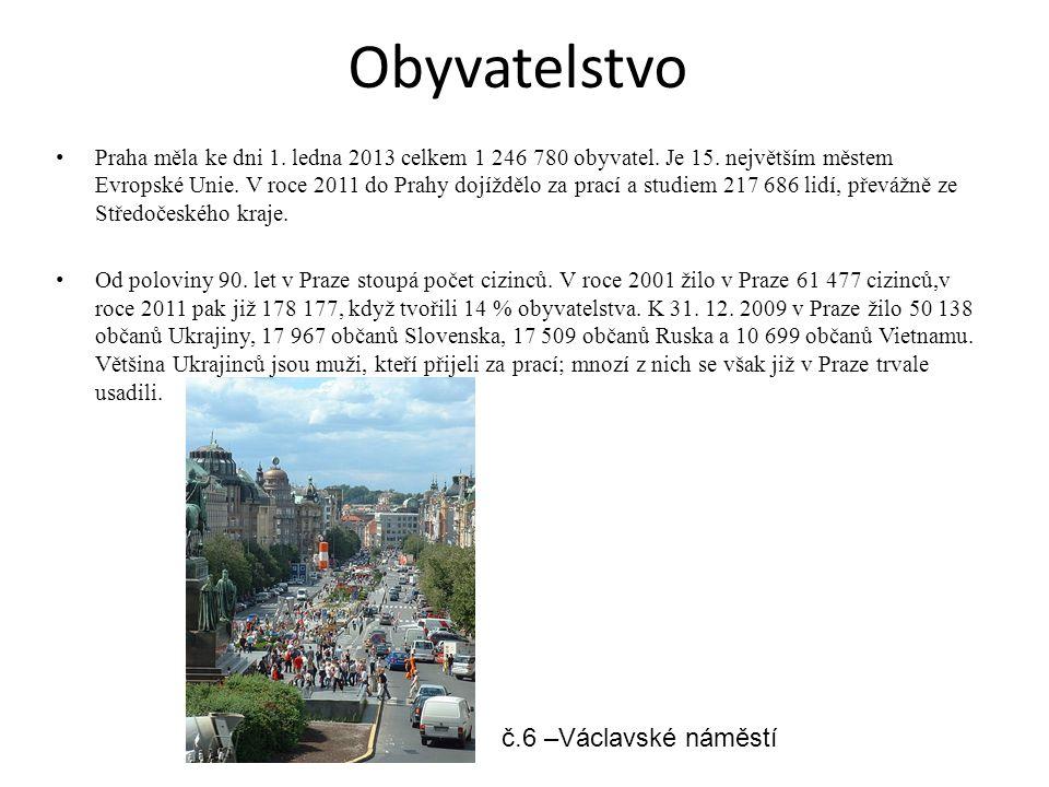 Obyvatelstvo č.6 –Václavské náměstí
