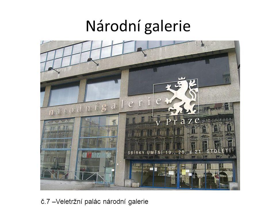 Národní galerie č.7 –Veletržní palác národní galerie