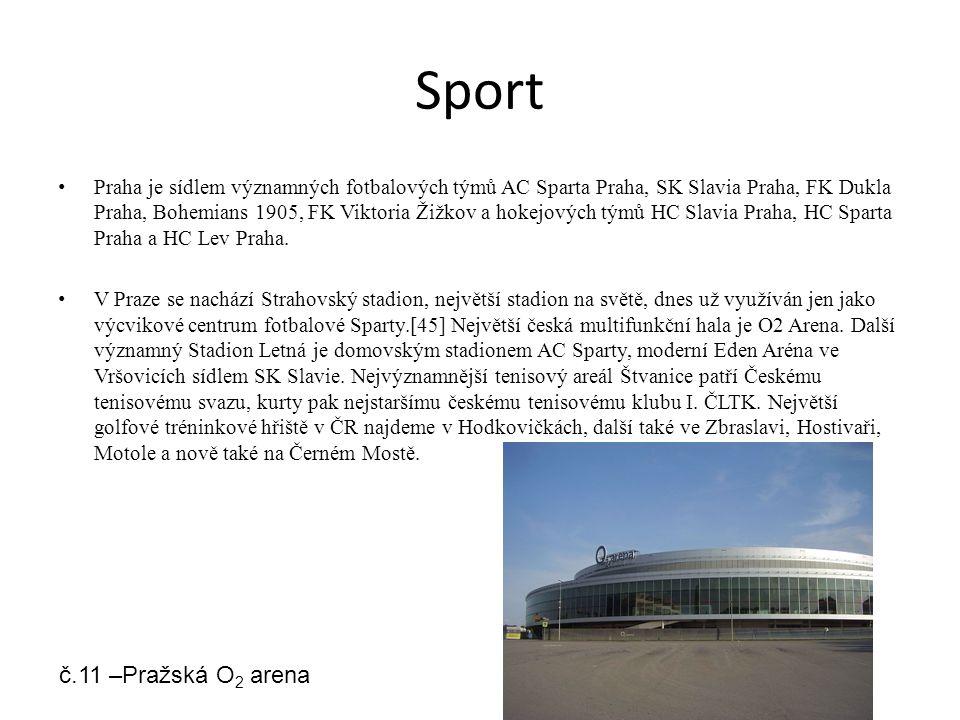 Sport č.11 –Pražská O2 arena