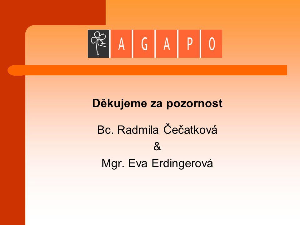 Děkujeme za pozornost Bc. Radmila Čečatková & Mgr. Eva Erdingerová