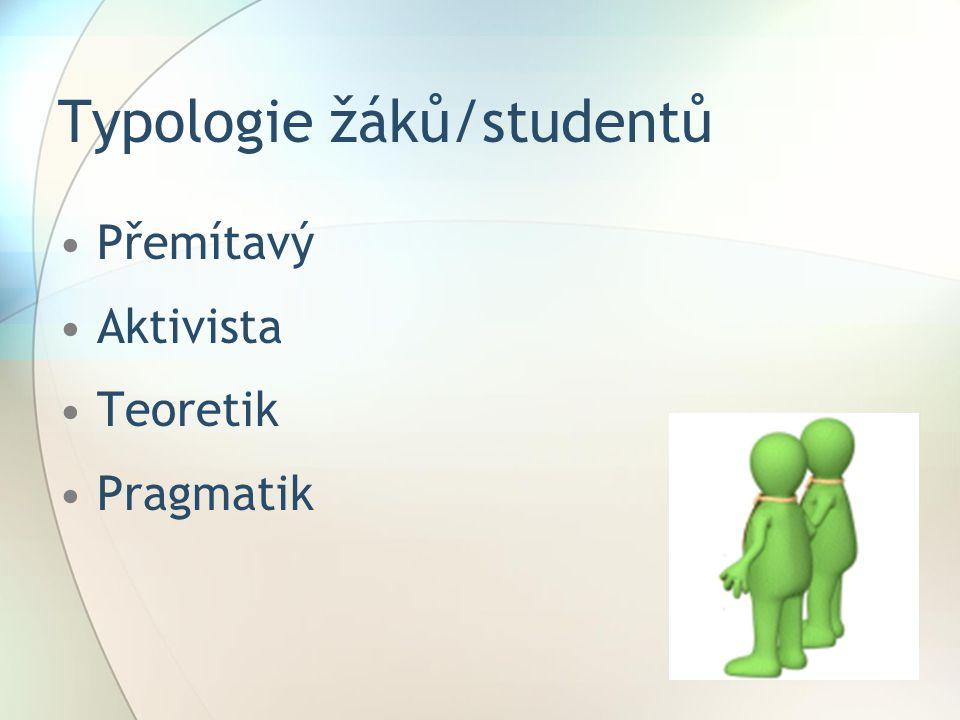 Typologie žáků/studentů