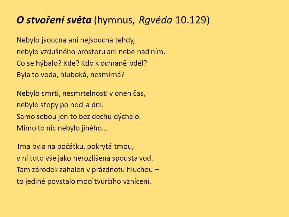 O stvoření světa (hymnus, Rgvéda 10.129)