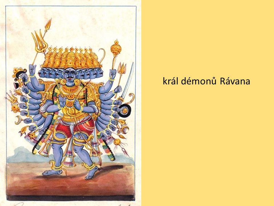 král démonů Rávana