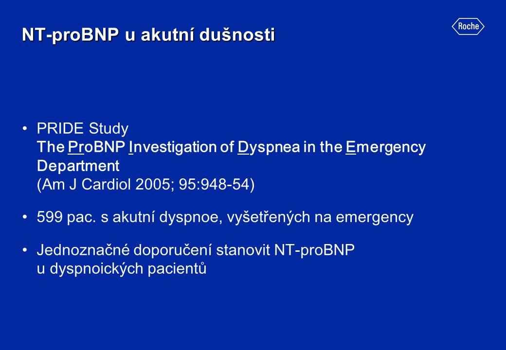 NT-proBNP u akutní dušnosti