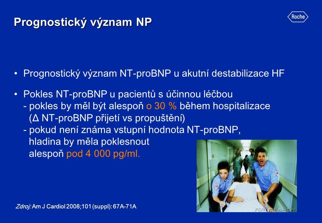 Prognostický význam NP