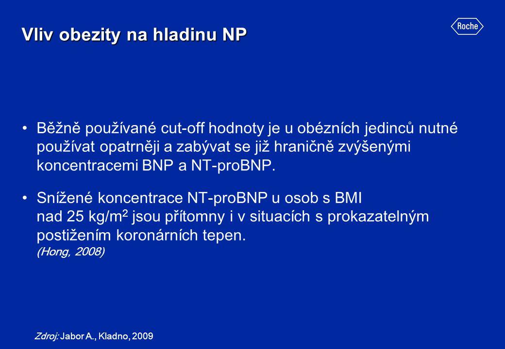 Vliv obezity na hladinu NP