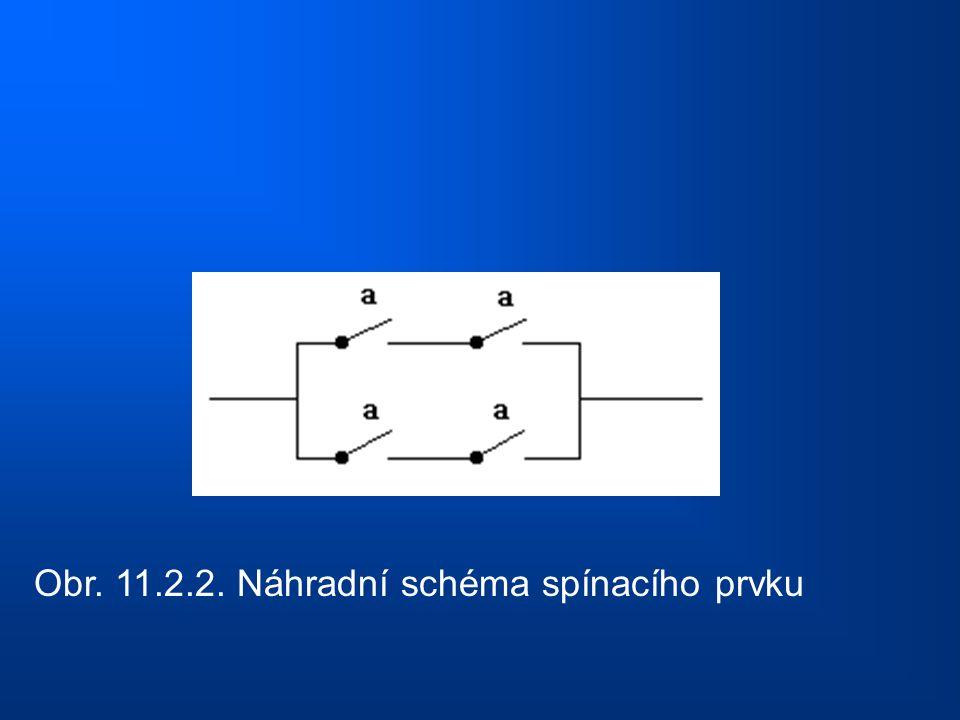 Obr. 11.2.2. Náhradní schéma spínacího prvku