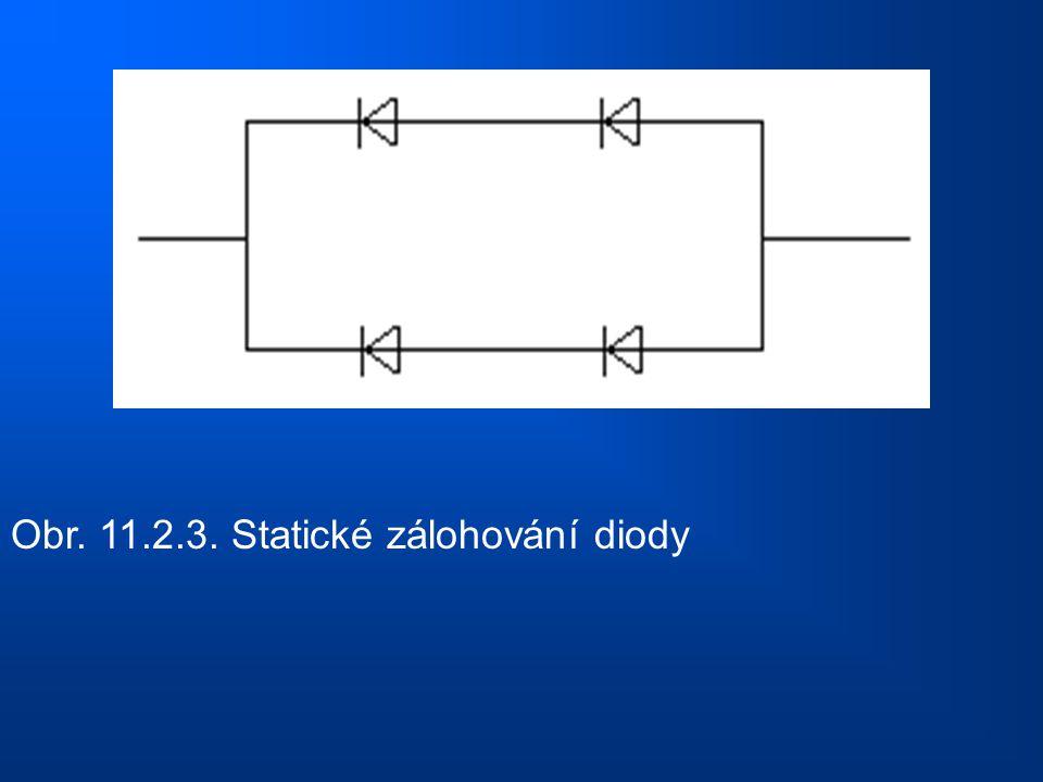 Obr. 11.2.3. Statické zálohování diody