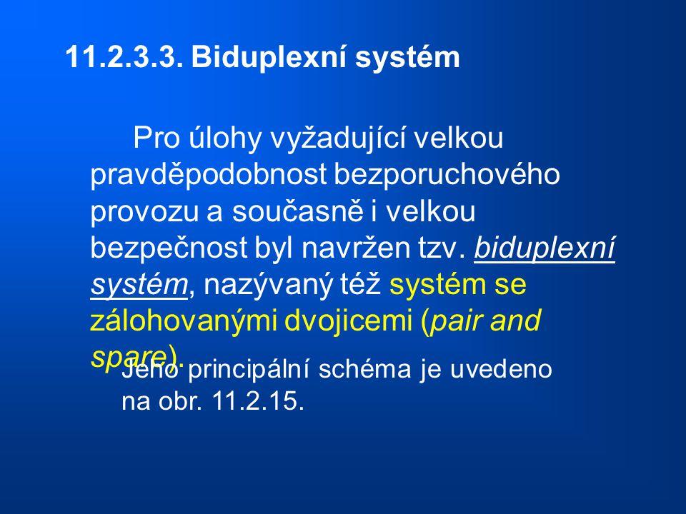 11.2.3.3. Biduplexní systém