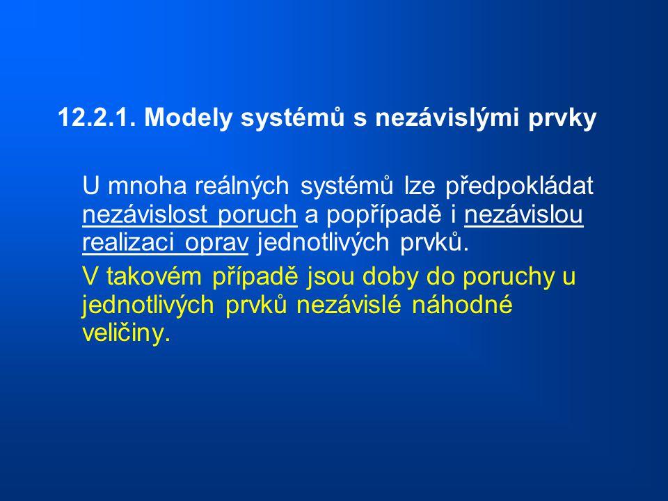 12.2.1. Modely systémů s nezávislými prvky