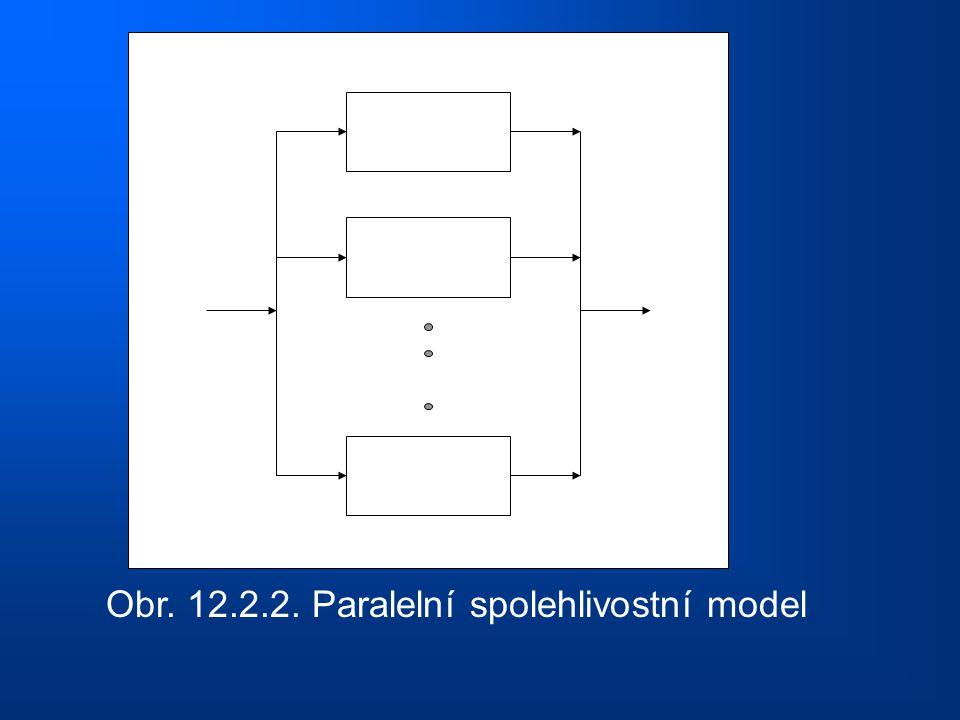 Obr. 12.2.2. Paralelní spolehlivostní model