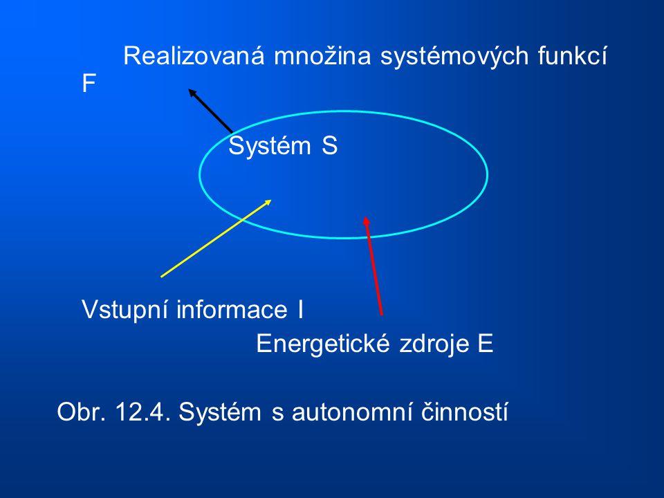Realizovaná množina systémových funkcí F