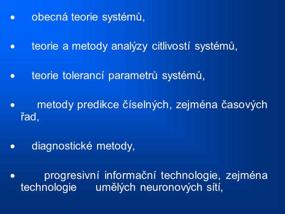 · obecná teorie systémů,