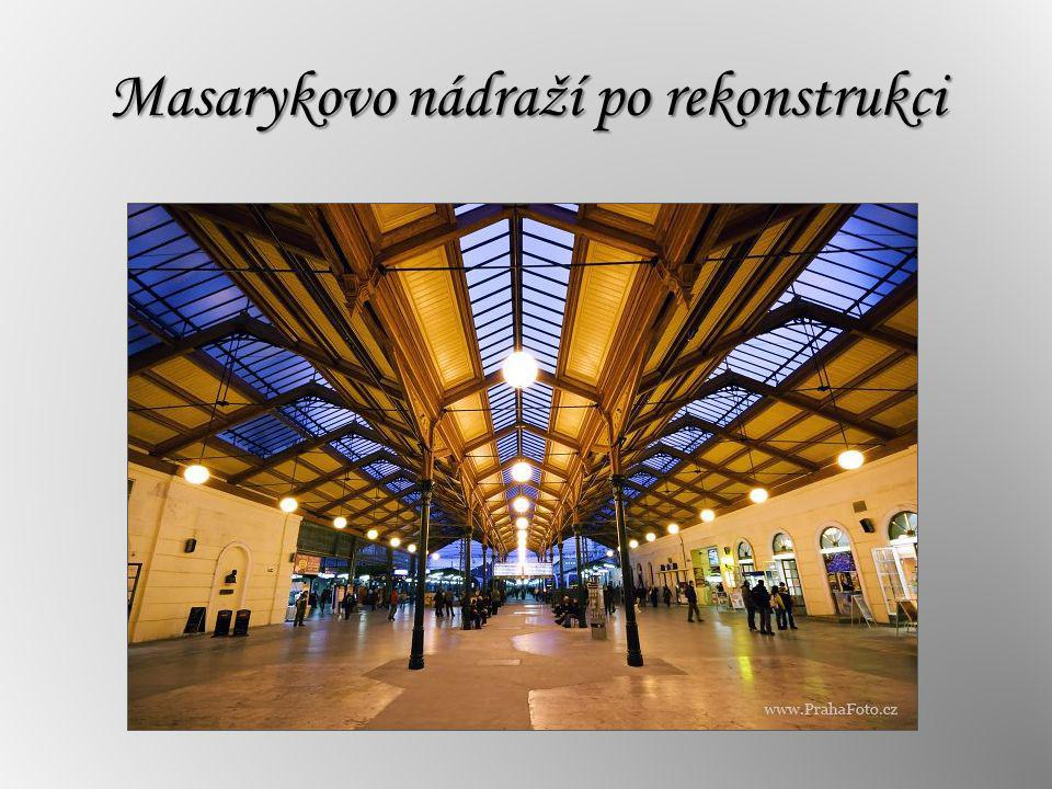 Masarykovo nádraží po rekonstrukci