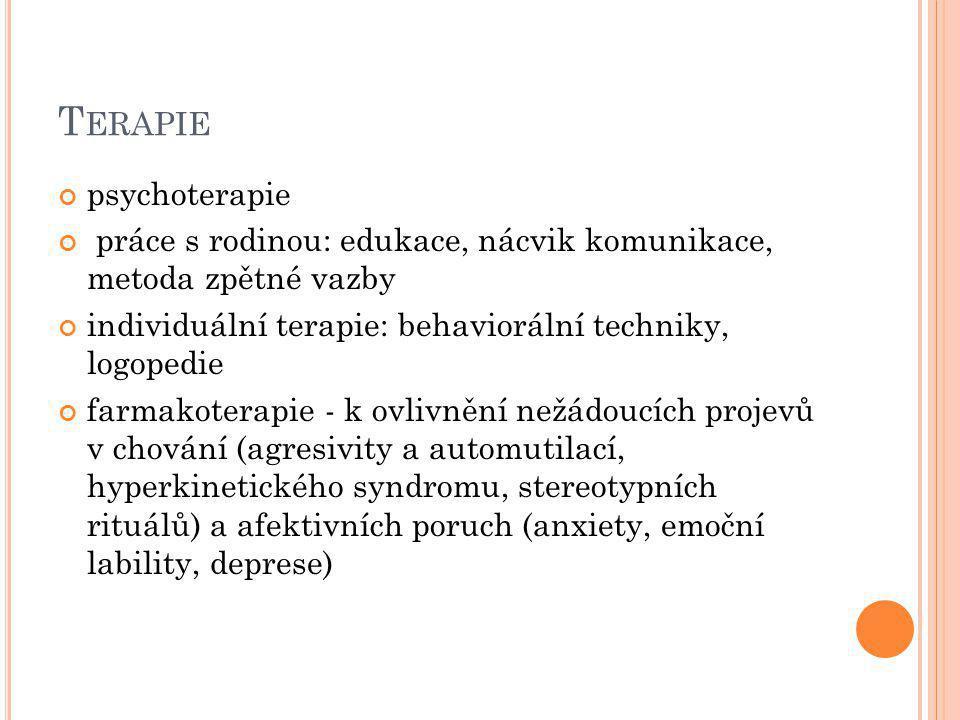 Terapie psychoterapie