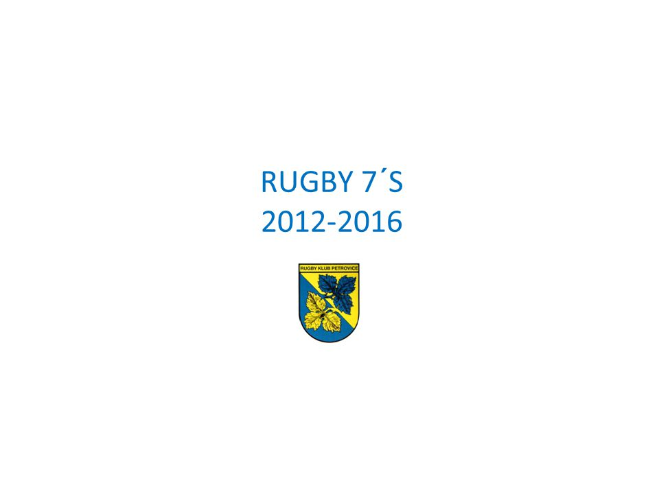 RUGBY 7´S 2012-2016 1