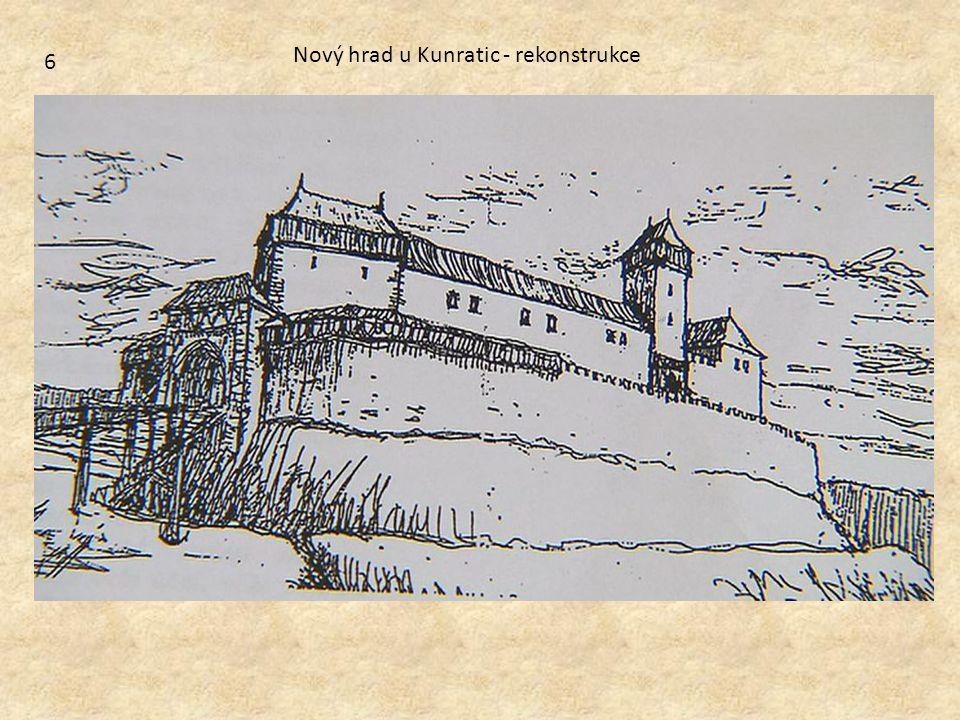 Nový hrad u Kunratic - rekonstrukce