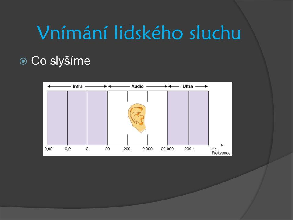 Vnímání lidského sluchu