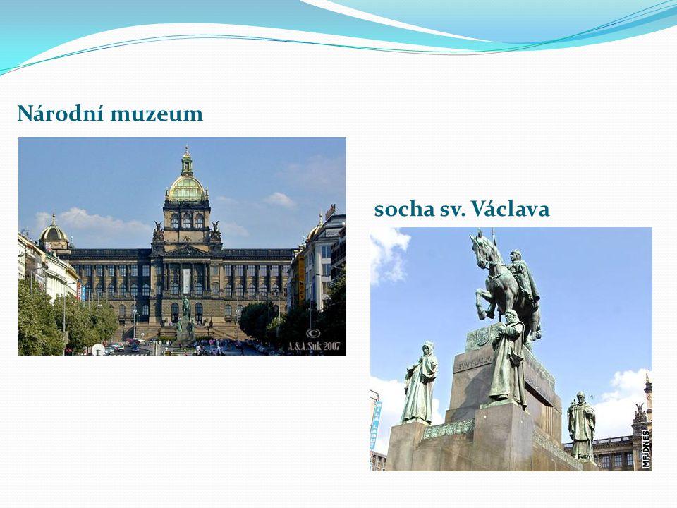 Národní muzeum socha sv. Václava