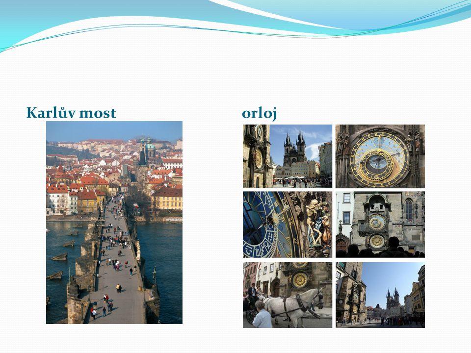 Karlův most orloj