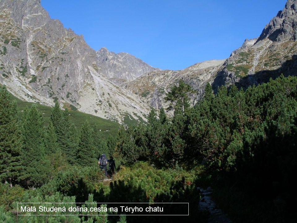 Malá Studená dolina,cesta na Téryho chatu