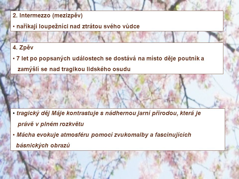 2. Intermezzo (mezizpěv)