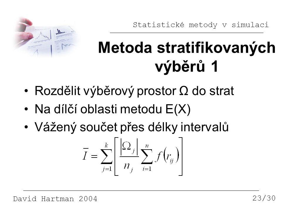 Metoda stratifikovaných