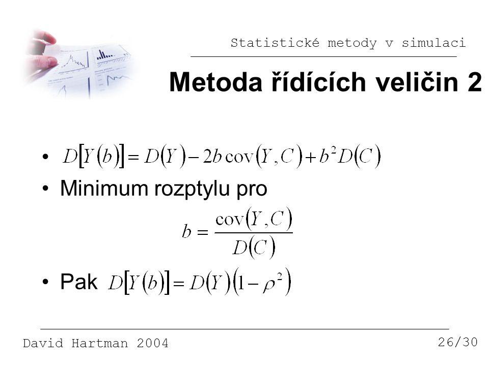 Metoda řídících veličin 2